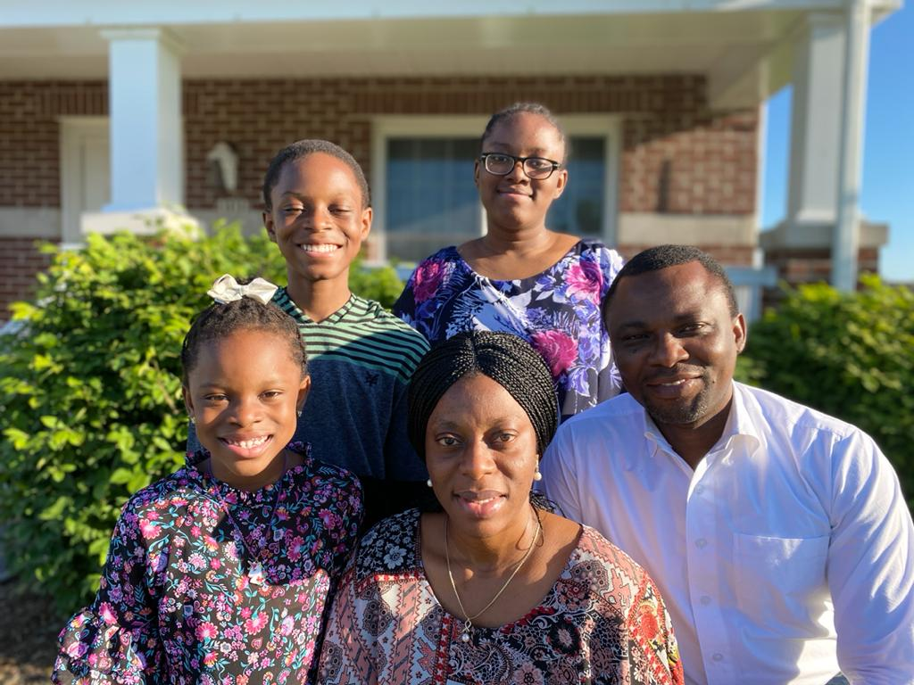 Pastor Sam Odubena and Family